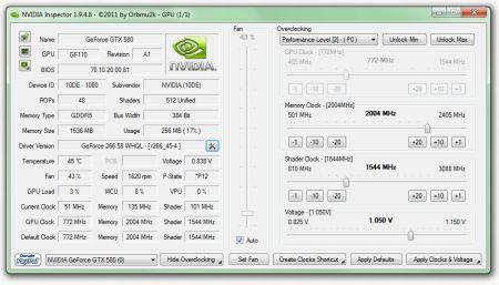 nVidia Inspector 1.9.8.1 Beta Portable