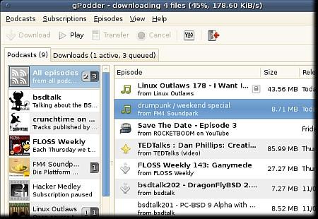 gPodder 3.10.17 Portable