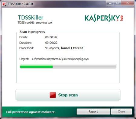 Kaspersky TDSSKiller 3.1.0.12 Portable