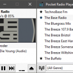 Pocket Radio Player 190421 Portable