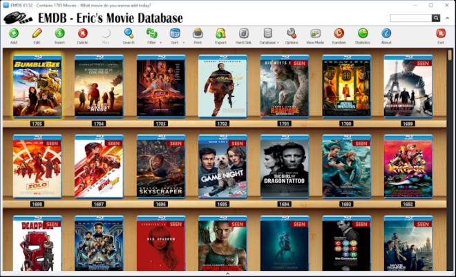 EMDB Eric's Movie DataBase
